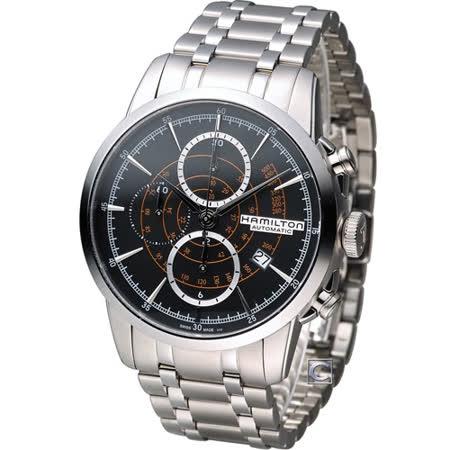 漢米爾頓 Hamilton 美國經典鐵路自動計時腕錶 H40656131