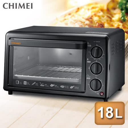 【CHIMEI奇美】18公升機械式電烤箱(EV-18A0AK)