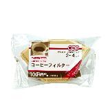 Tiamo 102無漂白咖啡濾紙100入*3袋/組 (HG3255-2)