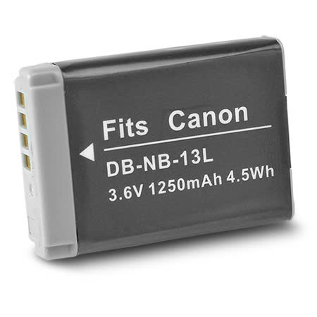 Kamera 鋰電池 for Canon NB-13L (DB-NB-13L)