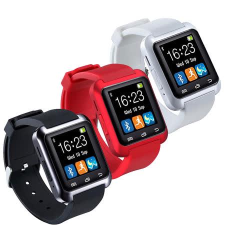 W1 藍牙觸控多功能智慧手錶-加送1A車充