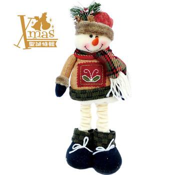 【X mas聖誕特輯2015】伸縮雪人 Y0017599