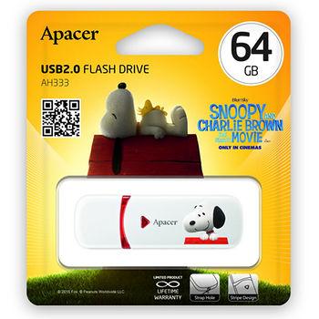 APACER 完美伴侶碟64G_史努比限量版AH333