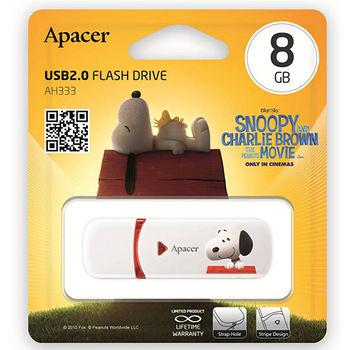 APACER 完美伴侶碟8G_史努比限量版AH333