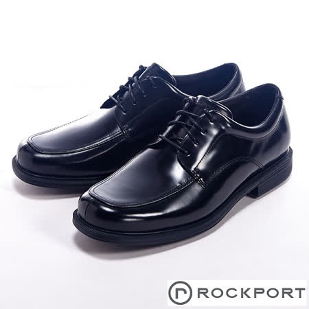 Rockport (男) EDITORIAL OFFICES 都會雅仕繫帶牛津皮鞋男鞋-黑