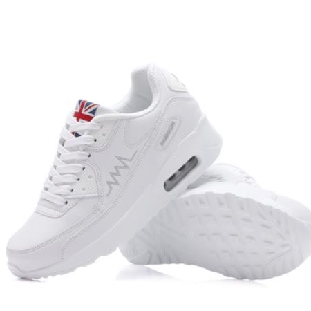 【Maya easy】搖搖鞋 健走鞋 q軟大底 羽量輕感 運動鞋 保暖鞋-純白色