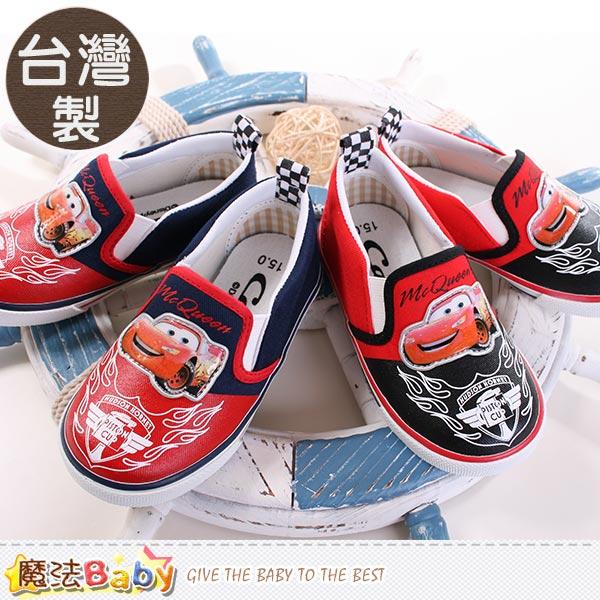 魔法Baby~男童鞋 台灣製迪士尼閃電麥坤正版帆布鞋 sh9104