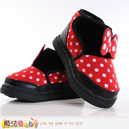 魔法Baby~童鞋 迪士尼米妮授權正版包鞋 sh9142