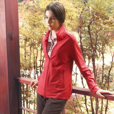 【意都美 Litume】女新款 立領彈性保暖外套_紅 CP606