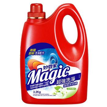 妙管家強效洗衣精-自然清新3.2kg