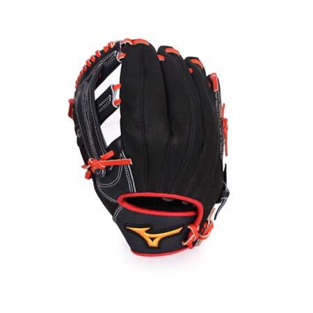 MIZUNO 少年用手套- 壘球手套 棒球 美津濃 深藍黑 F