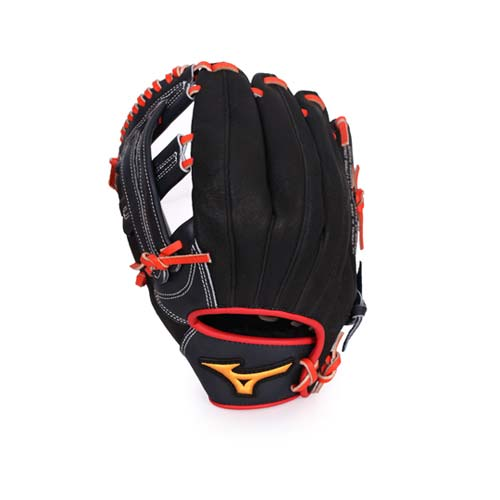 MIZUNO 少年用手套- 壘球手套 愛 買 春節 營業 時間棒球 美津濃 深藍黑 F