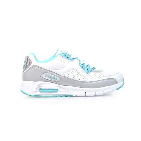 (女) DIADORA 運動鞋 -路跑 慢跑 白湖水綠