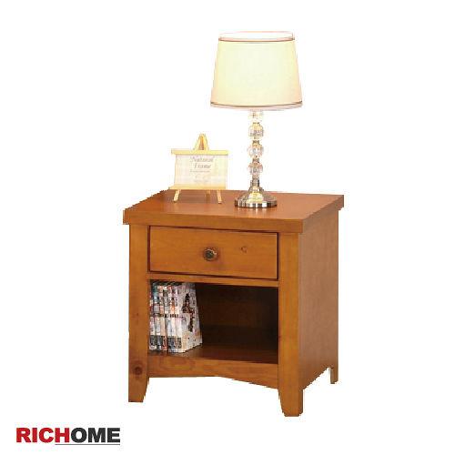 【RICHOME】單抽床頭櫃