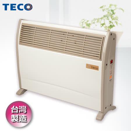 (夜殺)TECO東元 浴室臥房兩用防潑水微電腦電暖器 YN2001CB