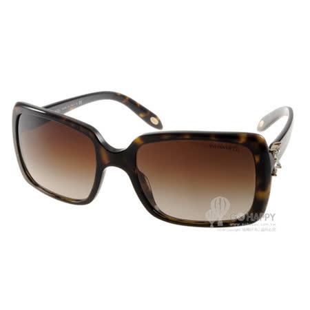 Tiffany&CO.太陽眼鏡 典雅小花鑽飾款(琥珀) #TF4047B 80153B
