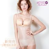 【安吉絲】輕感新革命☆280丹零束感隱形塑身衣/M-XXL(輕盈膚)