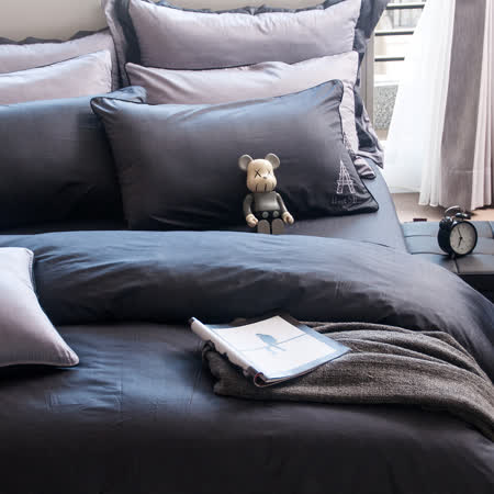 OLIVIA 《 Nelson 》雙人床包枕套三件組