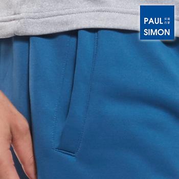 遠東Paul Simon 搖粒絨居家長褲-牛仔藍(M~2L)