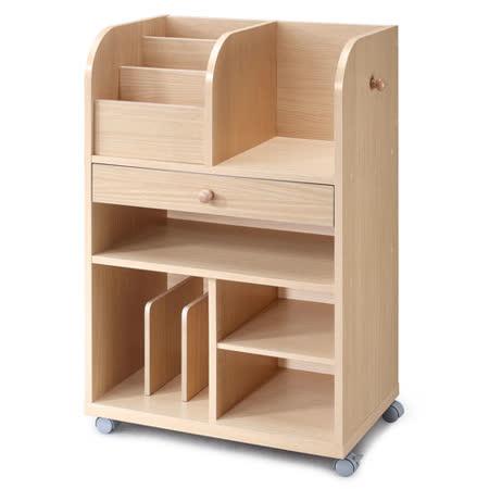 兒童萬用收納書櫃/木製書架/雜誌架/雜誌收納架