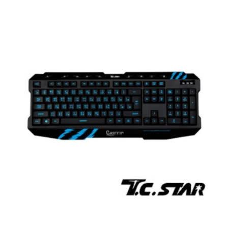T.C.STAR USB電競發光鍵盤TCK800