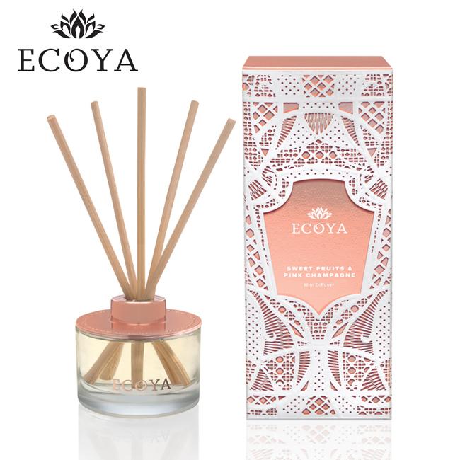 澳洲ECOYA 迷你薰香瓶-粉紅香檳 50ml