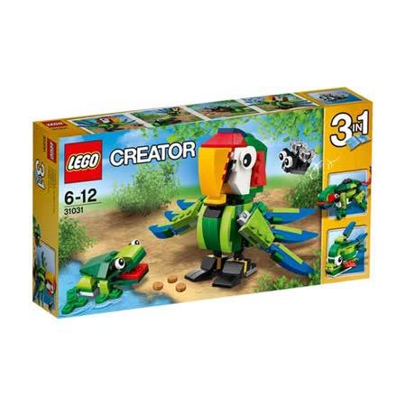 【LEGO樂高積木】Creator系列-雨林動物 LT 31031