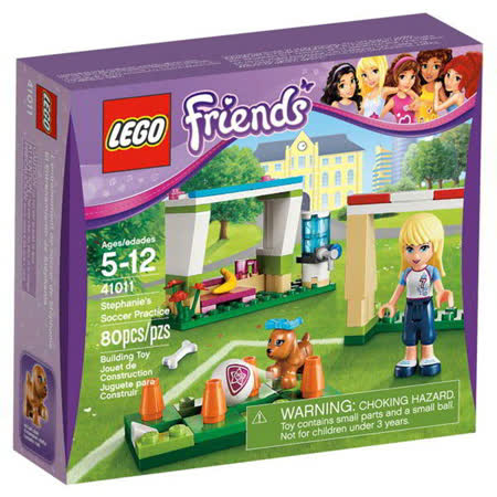【LEGO樂高積木】Friends好朋友系列-斯蒂芬妮的足球練習 LT 41011