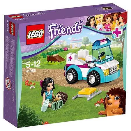 【LEGO樂高積木】Friends好朋友系列-獸醫救護車 LT 41086