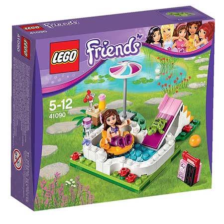 【LEGO樂高積木】Friends好朋友系列-奧利維亞的花園 LT 41090