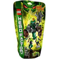 【LEGO樂高積木】Hero Factory英雄工廠系列-綠晶魔 OGRUM LT 44007