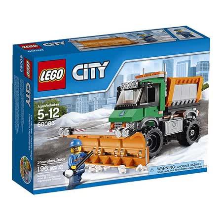【LEGO樂高積木】City系列-城市鏟雪卡車 LT 60083