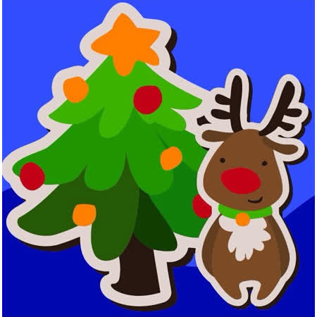 【ArtLife】聖誕限定款 創意油畫、數字油畫DIY_(聖誕樹)