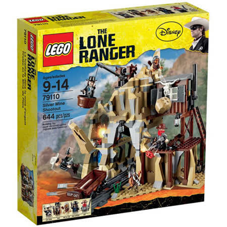 【LEGO樂高積木】The Lone Ranger獨行俠系列-銀礦坑槍戰 Silver Mine Shootout LT 79110