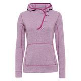 【hilltop山頂鳥】女款Zisofit保暖刷毛半襟開扣上衣H51FF0-紫