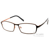 JULIO眼鏡 輕薄完美工藝(黑-橘) #STUTTGART BLK-OR