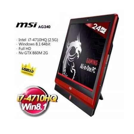 MSI 微星 AG240 24型 I7 電競神器 AIOPC