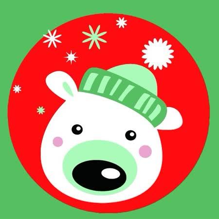 【ArtLife】聖誕限定款 創意油畫、數字油畫DIY_(北極熊)