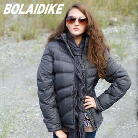 【波萊迪克bolaidike】 女 單件式水鳥羽絨外套_深灰 TF028