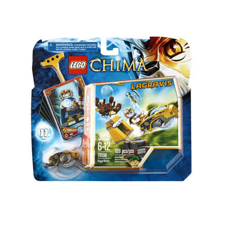 【LEGO樂高積木】Chima神獸傳奇系列-皇家鳥巢 LT 70108