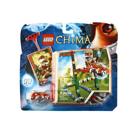 【LEGO 樂高積木】Chima神獸傳奇系列-沼澤跳躍 LT 70111