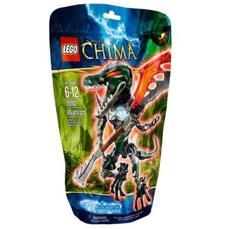 【LEGO樂高積木】Chima神獸傳奇系列-氣能量鱷霸王 LT 70203