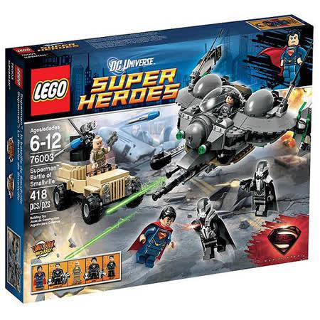 【LEGO樂高積木】Super Heros超級英雄系列-Superman 超人:超人前傳之戰 LT 76003
