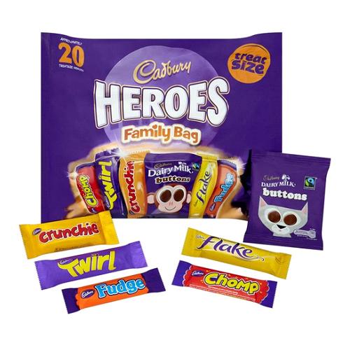 Cadbury 明星 巧克力袋裝278g
