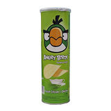 憤怒鳥洋芋片-奶油洋蔥口味 160g/罐