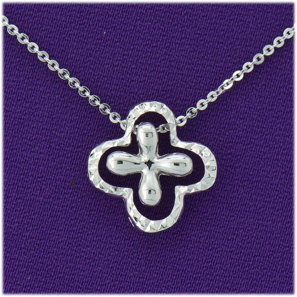 【光彩珠寶】鉑金項鍊 愛在心裡