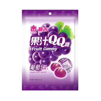 義美 寶吉果汁QQ糖(葡萄)176g