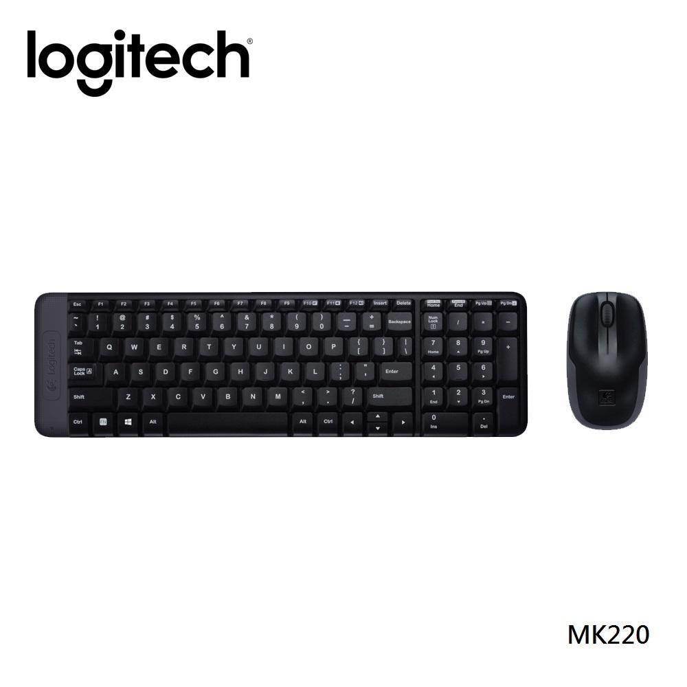 羅技 - MK220無線鍵鼠組