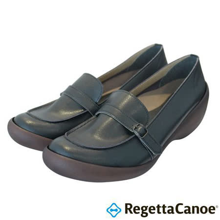 RegettaCanoe _(女款)CJWS-6708優雅樂步休閒鞋-經典黑