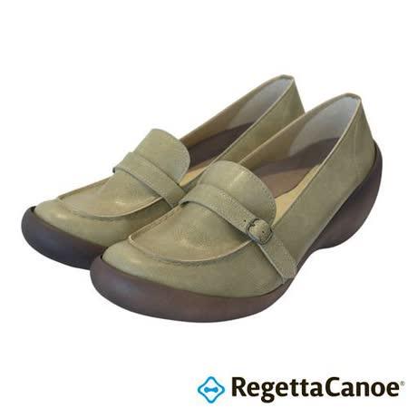 RegettaCanoe _(女款)CJWS-6708優雅樂步休閒鞋-米色